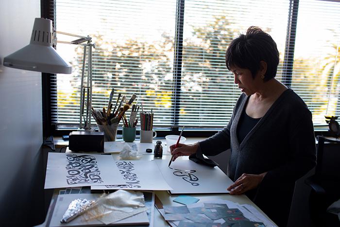 Bryn Imagire, #Incredibles2 Shading Art Director and Costume Designer (Photo by Deborah Coleman / Pixar)