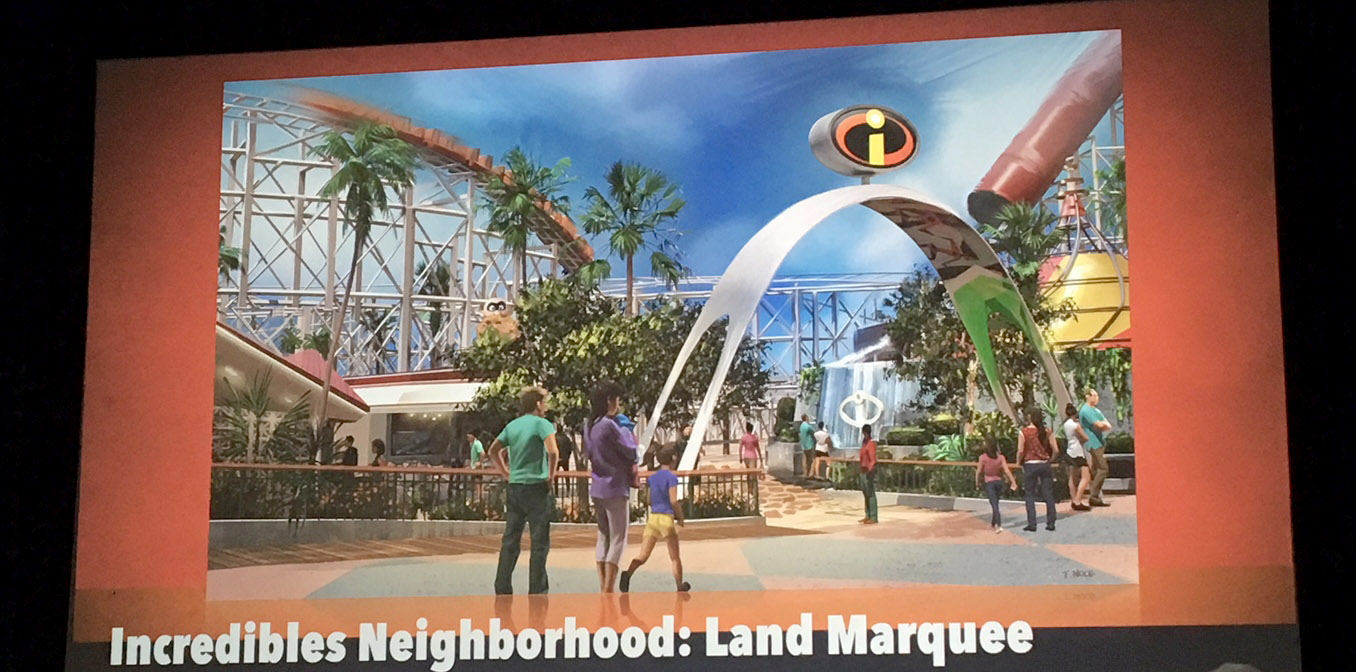 Pixar-Pier-The-Incredibles-Land-Marquee