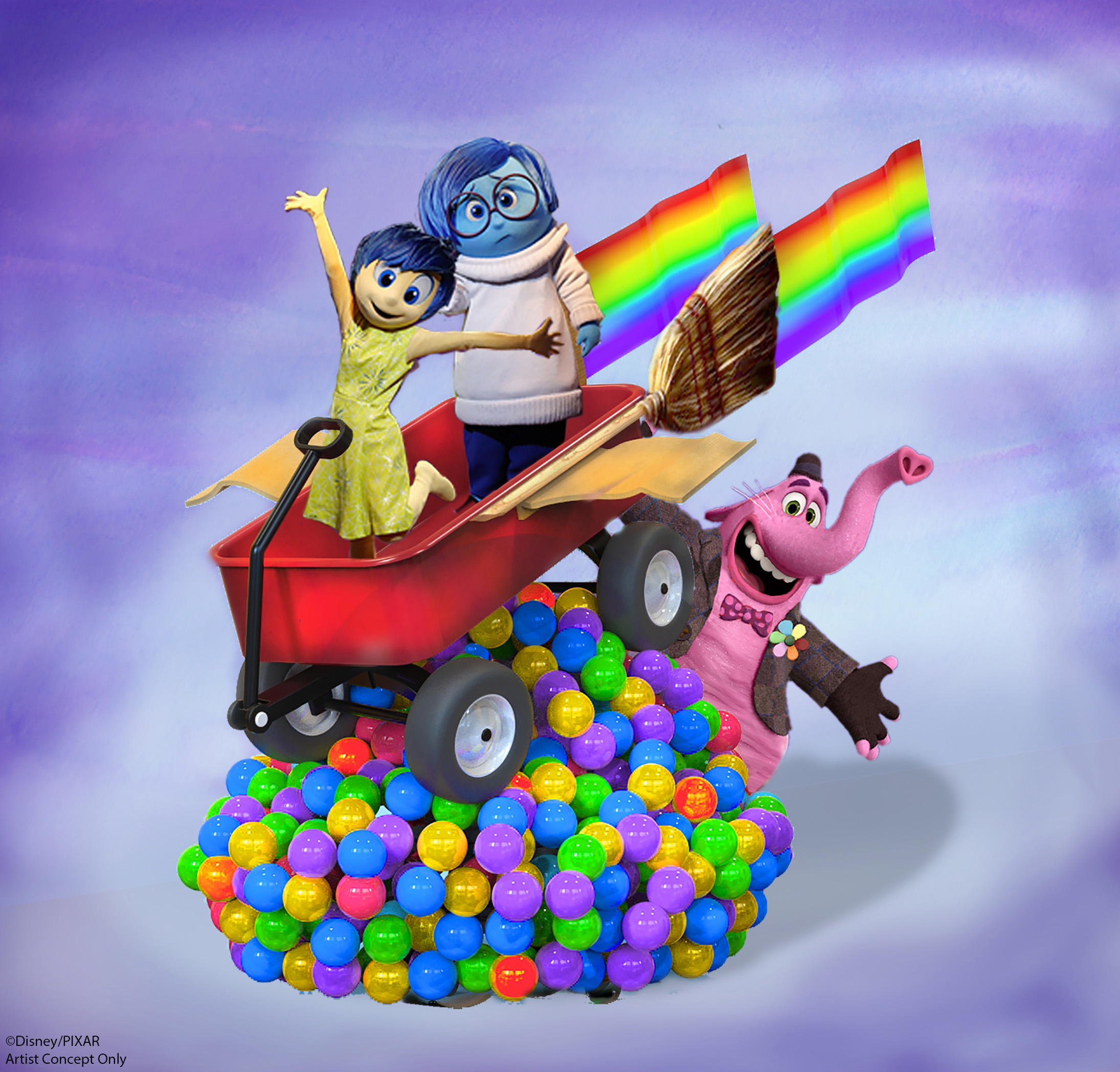 Inside Out Float