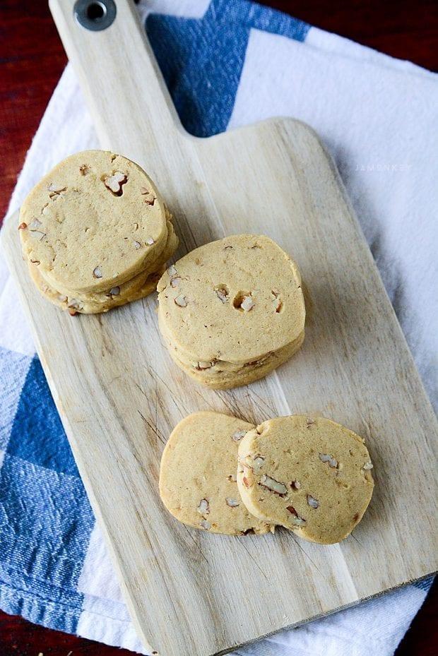 Icebox Cookies Baking Christmas Goodies Jamonkey