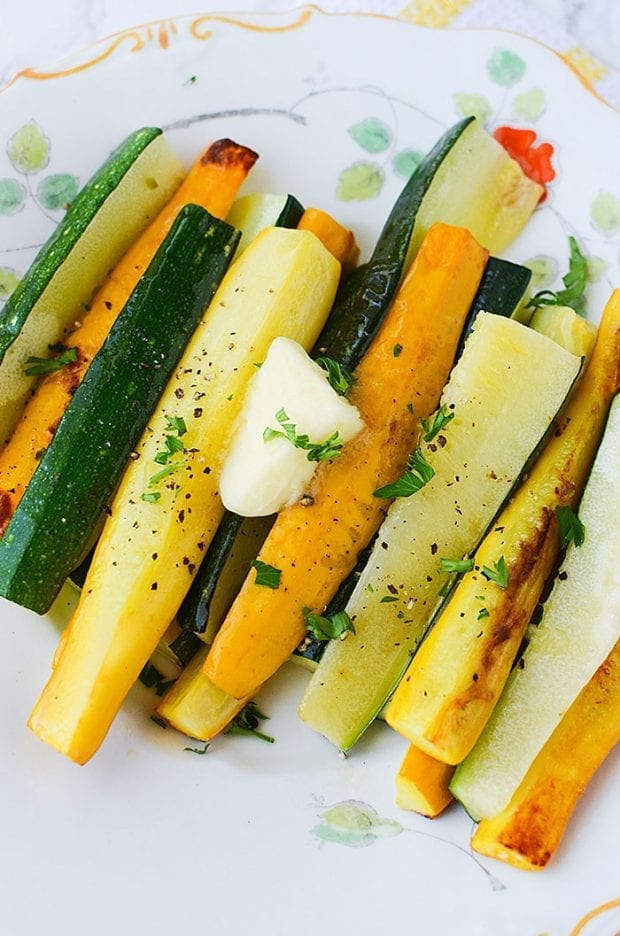Grilled Squash & Zucchini - Simple Side Dish