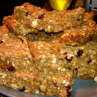 Fall Homemade Chewy Granola Bars with M&M's White Chocolate Candy Corn #MMsGetCorny #cbias