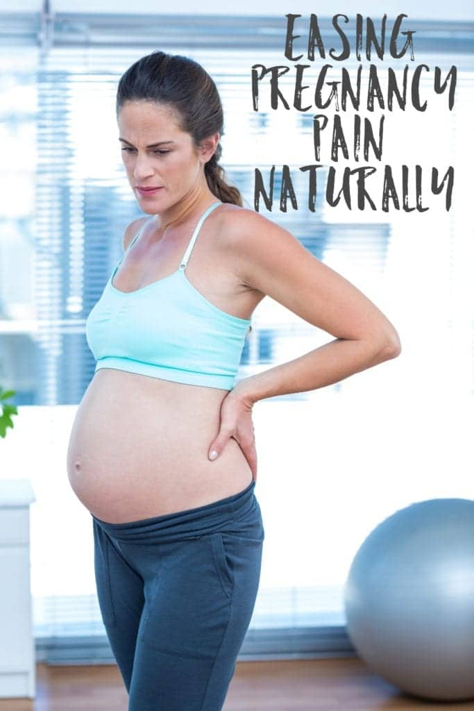 Easing Pregnancy Pain Naturally - stretches to help with hip and lower back pain.