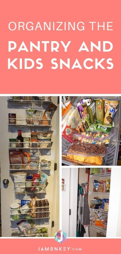 Organizing the Pantry and a Kids Hungry Box