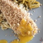Pecan Crusted Chicken with Peach Mustard Glaze Recipe
