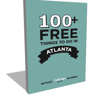 New Book: 100+ Free Things to do in Atlanta by Sue Rodman