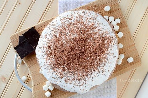 Easy S'Mores Ice Cream Pie Recipe