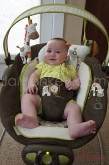 35c2e8b97371 Ingenuity Automatic Bouncer Review from Kids II