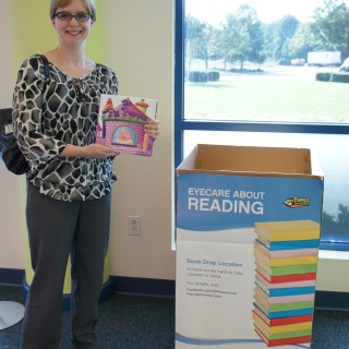 National and Local Authors Donate to Atlanta for the Eyecare About Reading Book Drive
