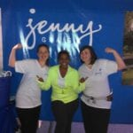 Walking with Team Jenny & Brely Evans for the Atlanta Heart Walk