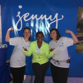 Walking with Team Jenny & Brely Evans for the Atlanta Heart Walk