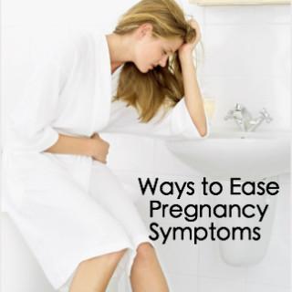 Ways to Ease Pregnancy Symptoms