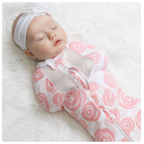 76bd82c4ce Swaddling a new baby is a must for new parents. You learn very quickly that  it will soothe your baby and help them sleep. But as your baby gets older  and ...