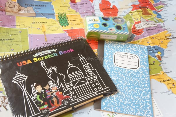 Little Passports Conquers The USA JaMonkey - Scratch off us map