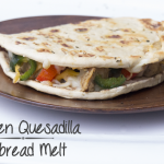 Chicken Quesadilla Flatbread Melt Recipe