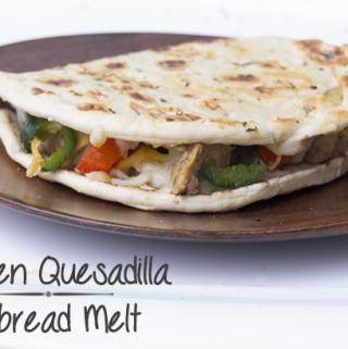 Chicken Quesadilla Flatbread Melt Recipe