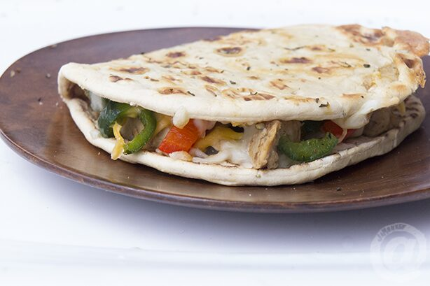 Chicken Quesadilla Flatbread Melt
