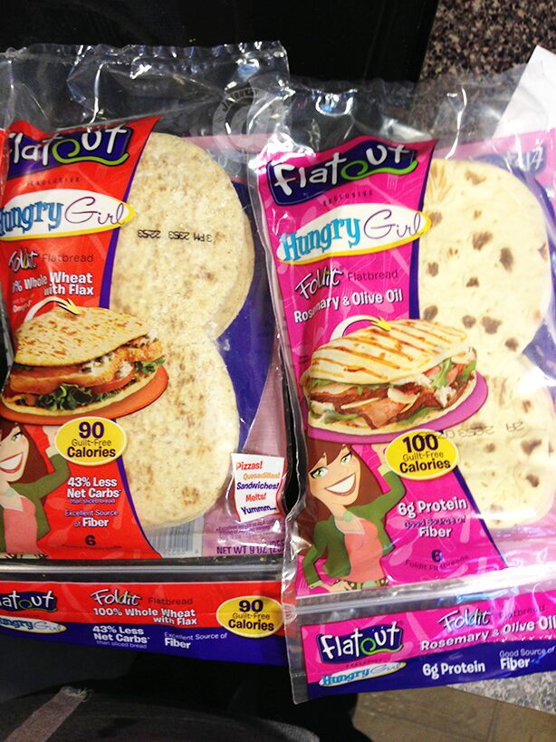 Hungry Girl Foldit Flatbread