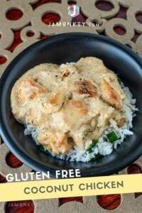 gluten free coconut chicken
