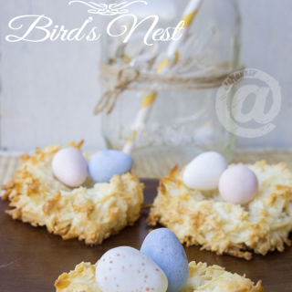 Easy Easter Bird's Nest Dessert – Kid Friendly Recipe