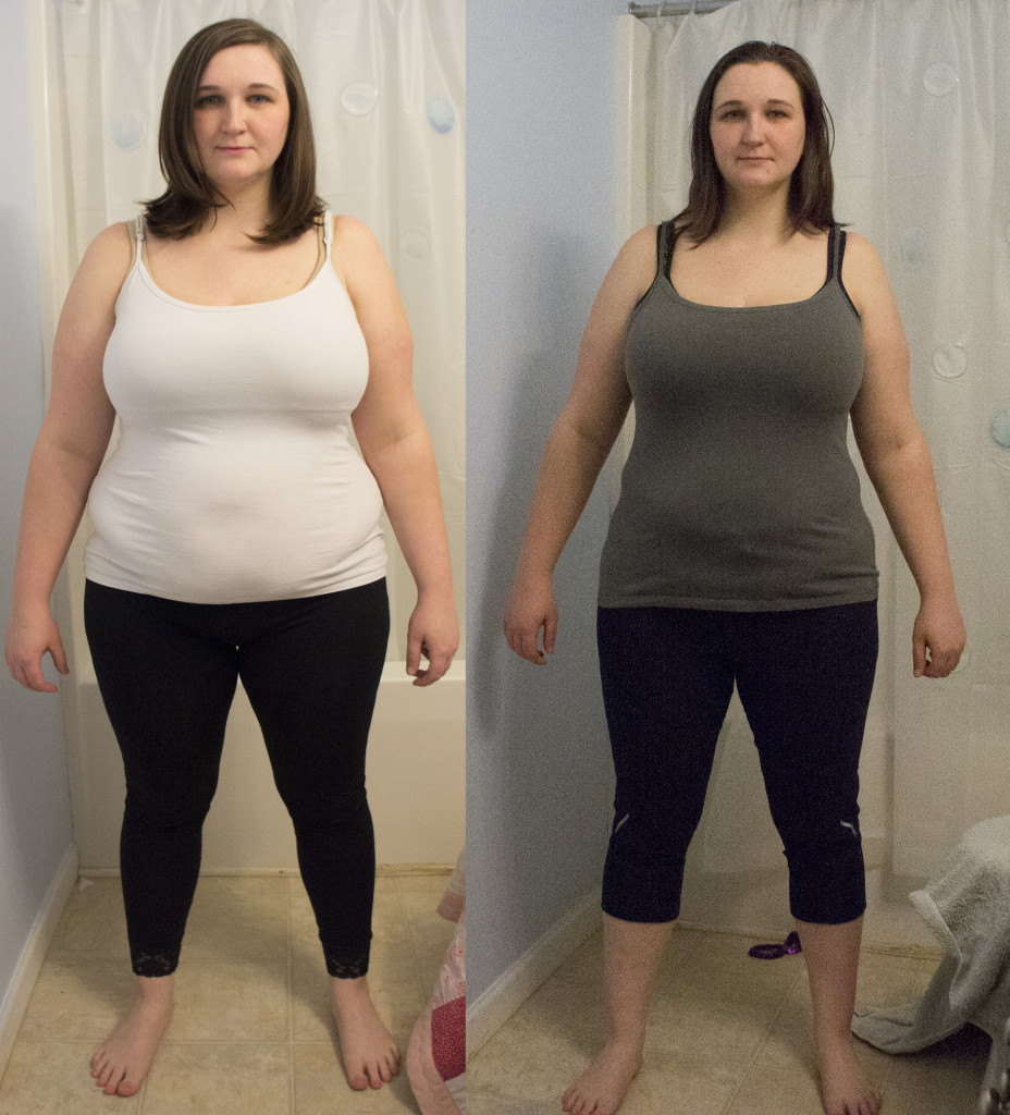 weight loss results in a month