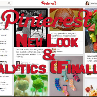 Pinterest's New Look & Analytics (Finally!)