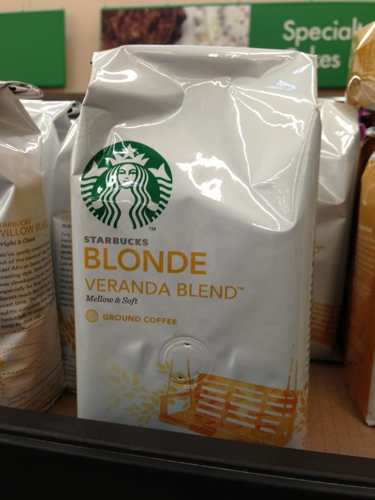 Starbucks Veranda Blonde Roast