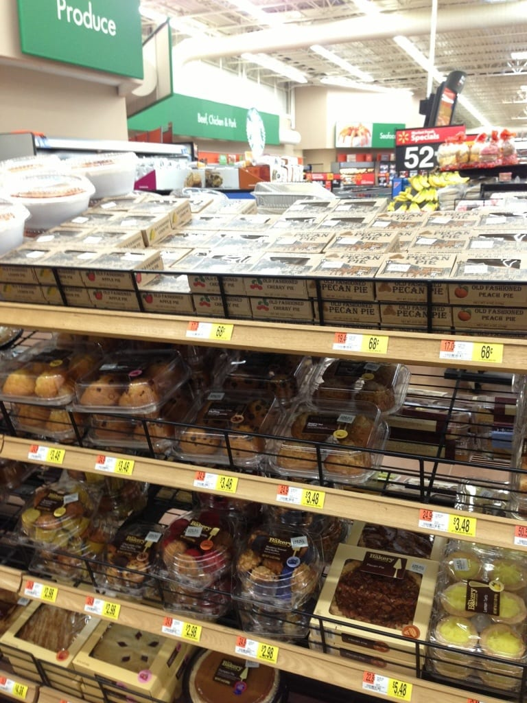 Walmart Banana Nut Muffins