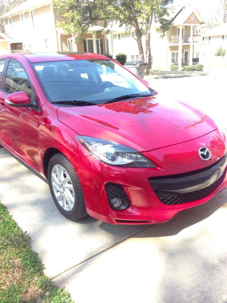 Mazda3 with SkyActiv