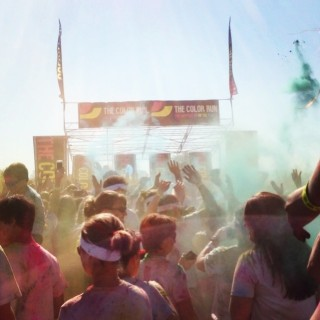 First 5k of the Year – The Color Run #TheHappiest5K