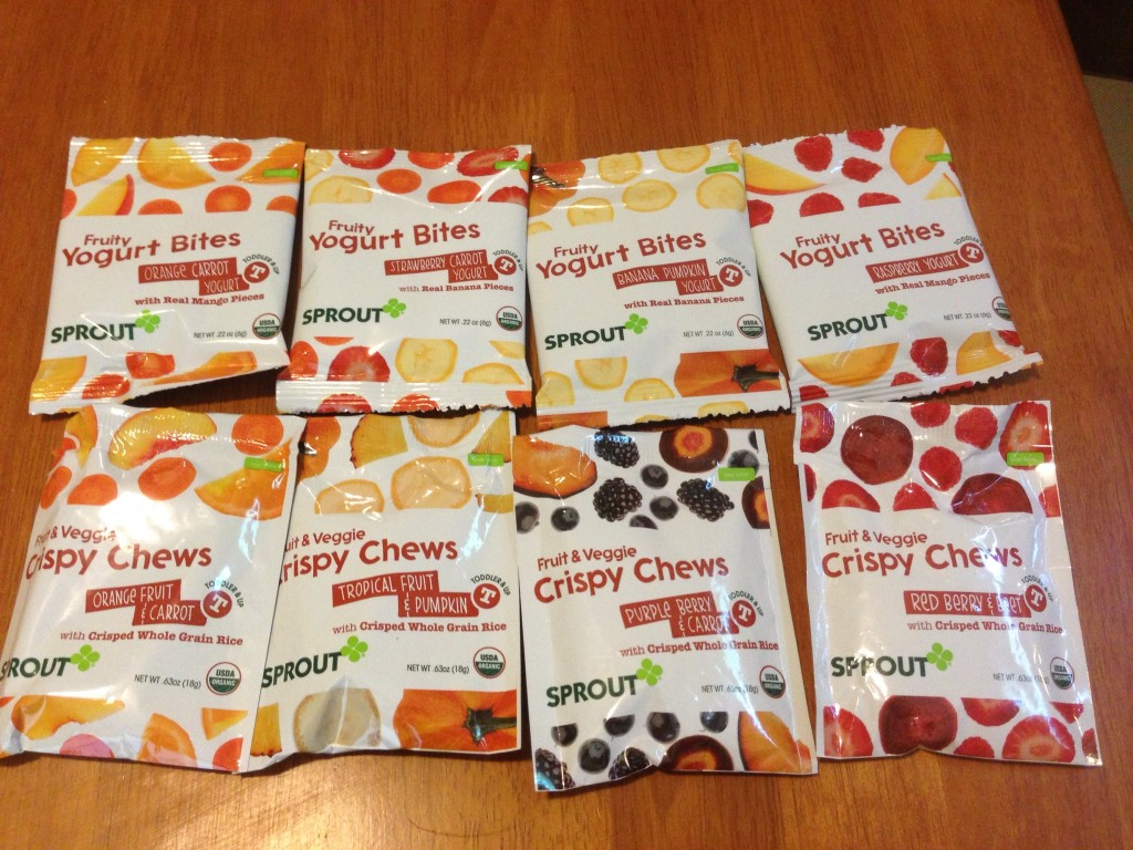 Sprout Organic Foods - Toddler Snacks