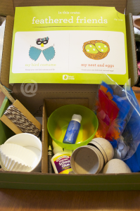 KiwiCrate Monthly Craft Box for Kids