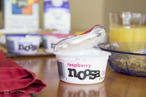 Noosa Raspberry Australian Yoghurt