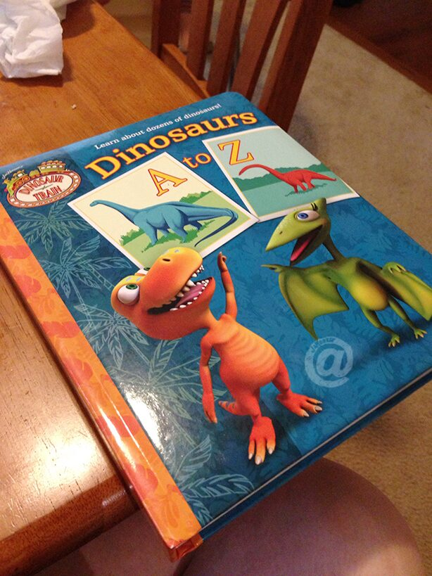 Dinosaur Train Dinosaurs A to Z