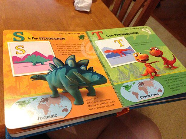 Dinosaur Train Dinosaurs A to Z