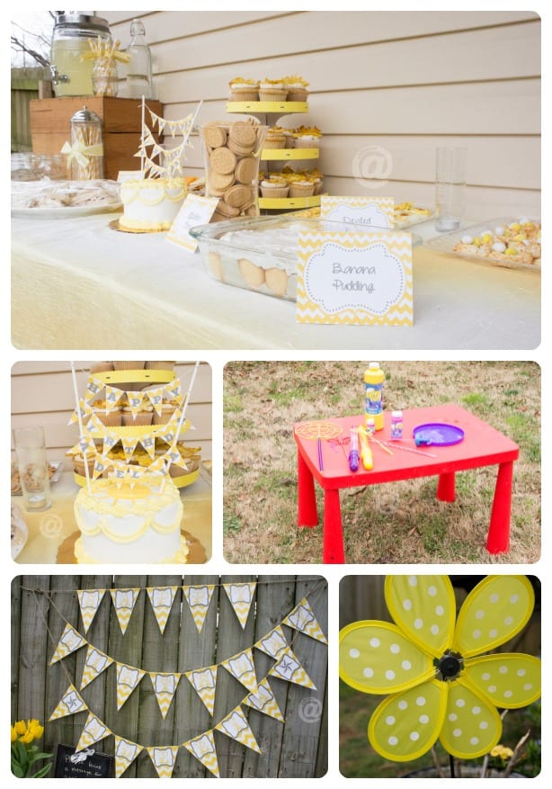 Sunshine and Lemonade First Birthday Party
