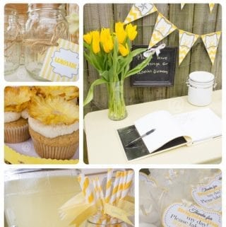 A Sunshine and Lemonade 1st Birthday Party