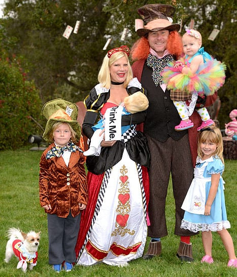Alice in Wonderland Family Costumes