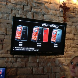 New Motorola Droids at Verizon Wireless