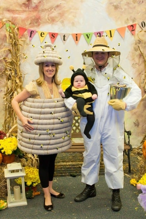 Bee and bee keeper costumes