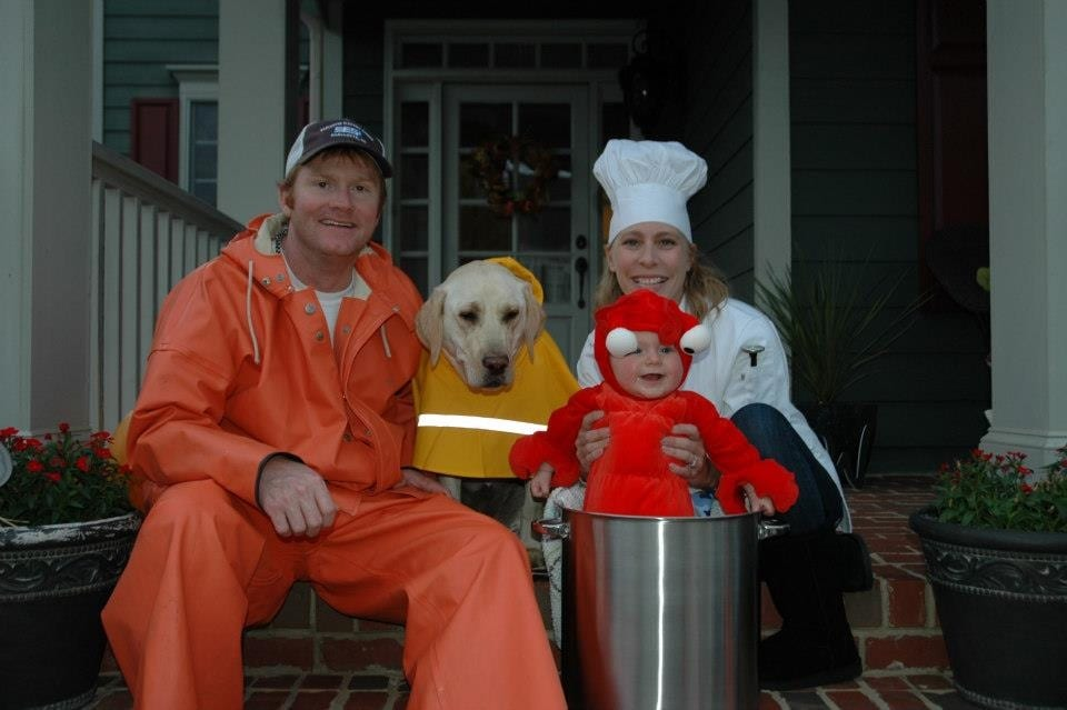 Lobster Family Costume