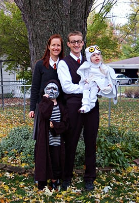 Harry Potter Family Costume