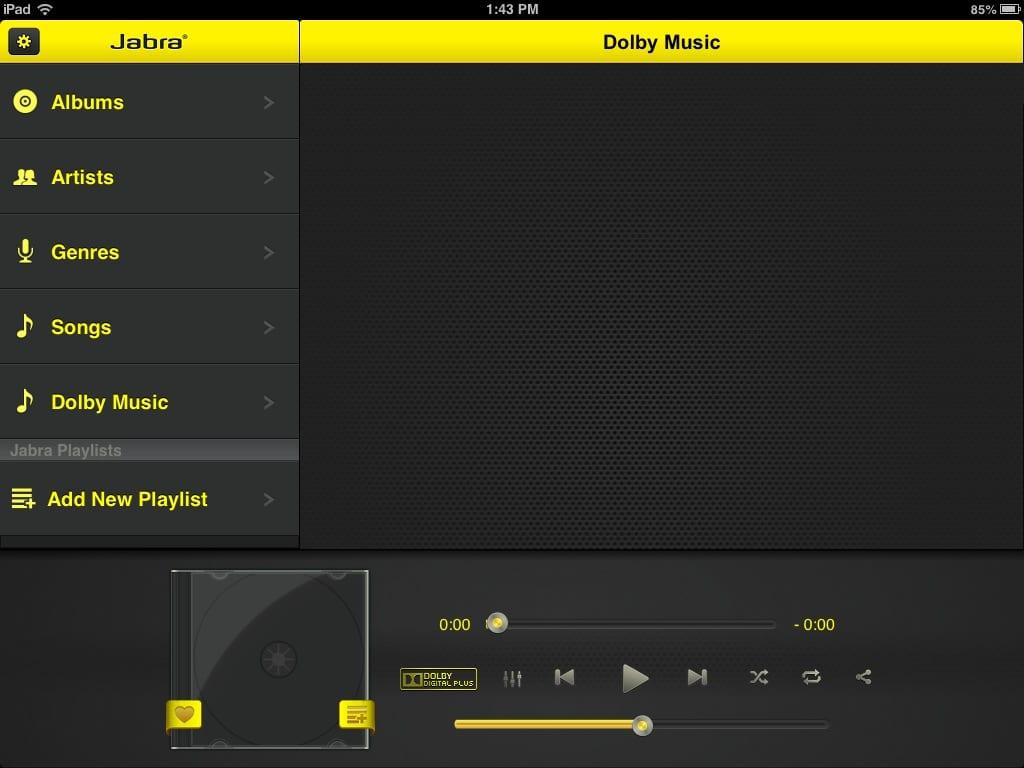 Dolby Digital Jabra App