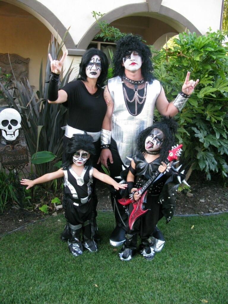 KISS family costume