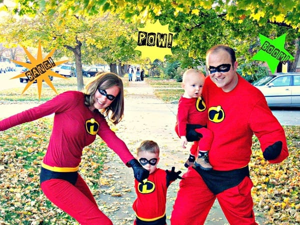the jetsons family incredibles family costume - Family Halloween Costumes For 4