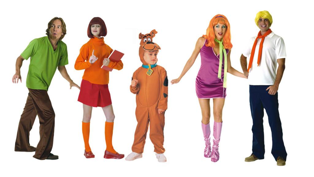 Scooby Doo family costume