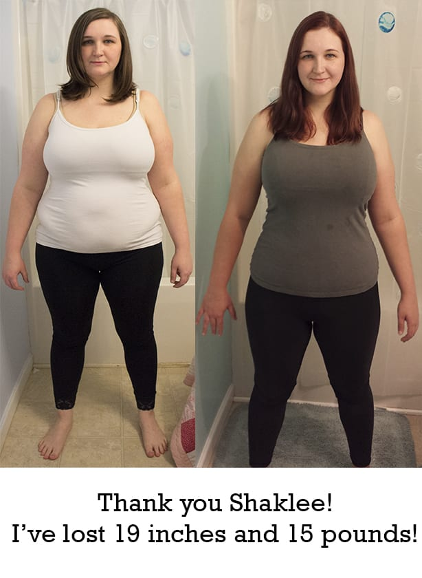 before and after Shaklee 180