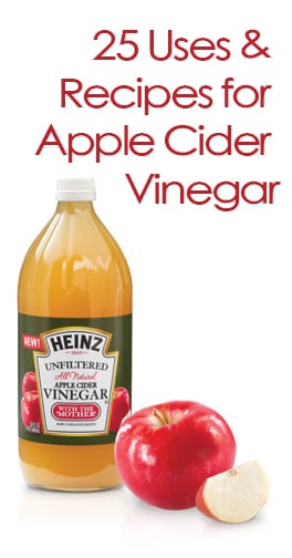 Uses and Recipes with Apple Cider Vinegar