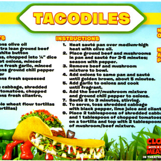 Foodimal Recipes from Cloudy With a Chance of Meatballs 2 #Cloudy2