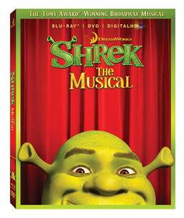 Shrek the Musical DVD/Blu-Ray Giveaway